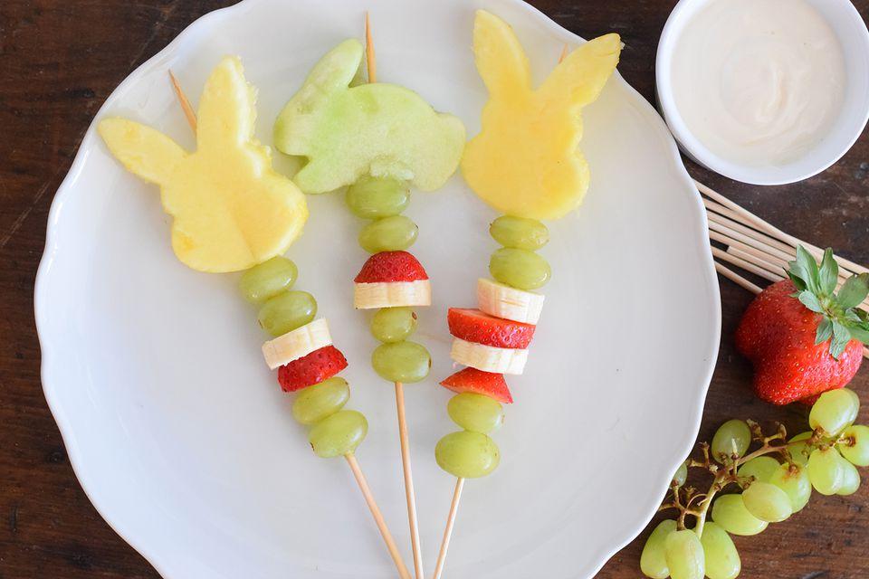 easter fruit kebabs