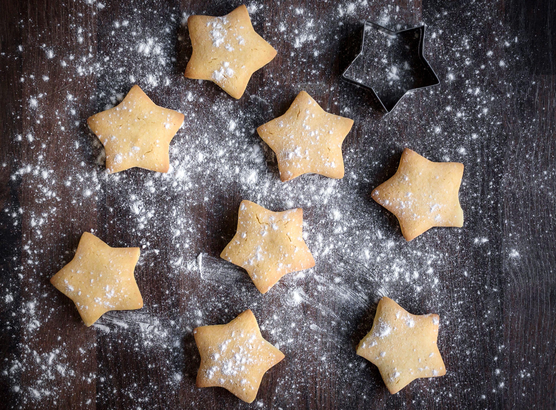 Buttery Vanilla Tea Cake Cookie Recipe