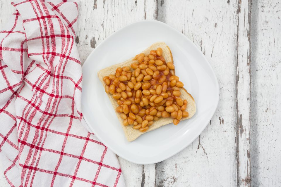 Irish beans on toast