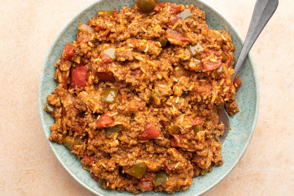 Crock Pot Spanish Rice With Ground Beef