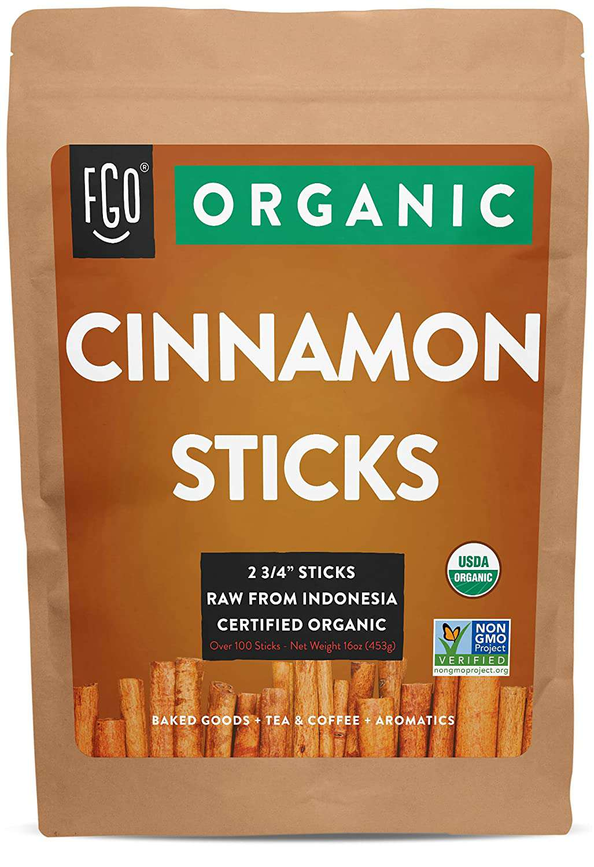 Feel Good Organics Korintje Cinnamon Sticks