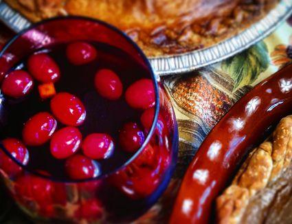 Christina Karl's Winter Warmer Mulled Sangria Cocktail