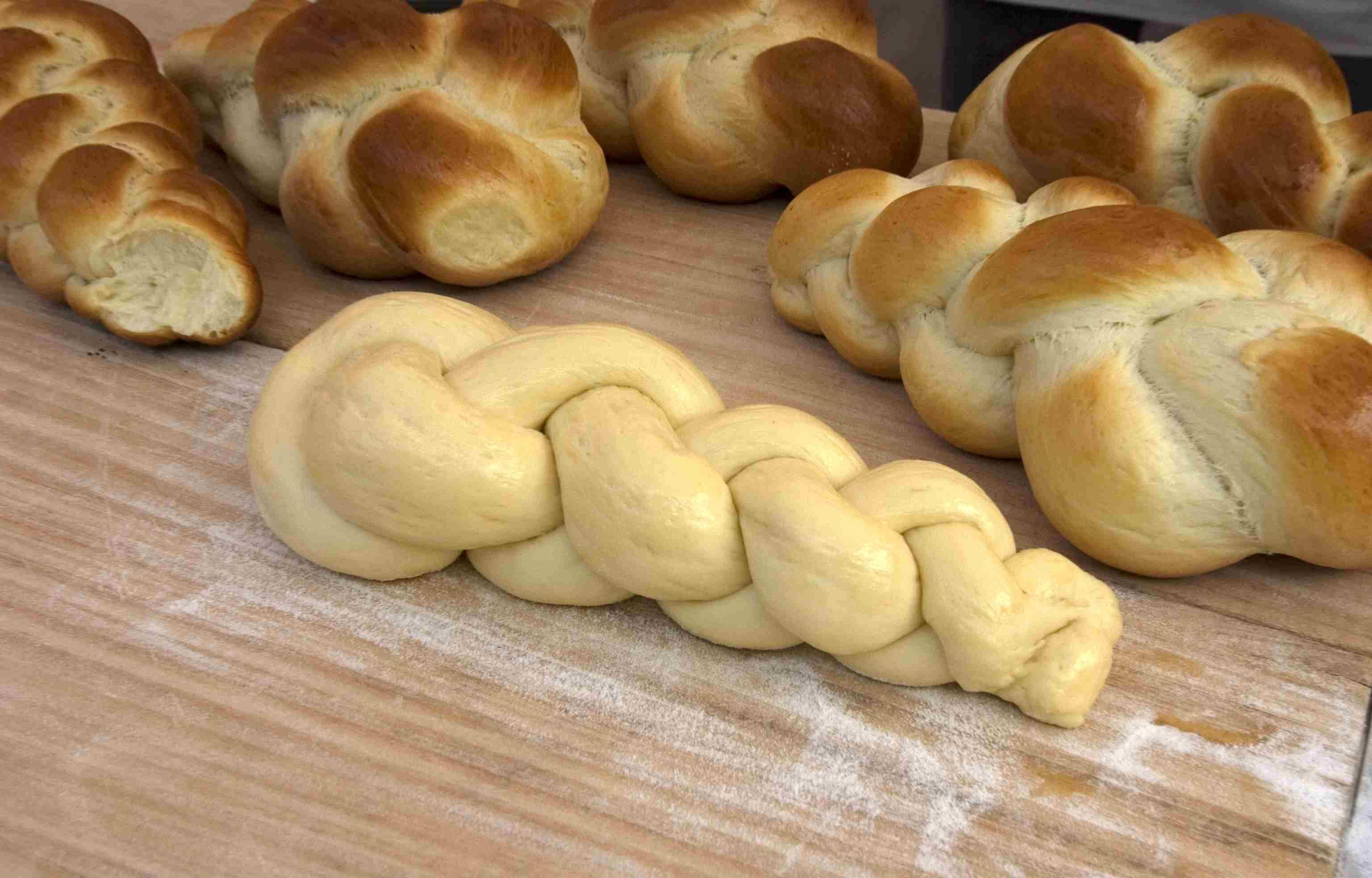 Polish Egg-Twist Bread - Chalka