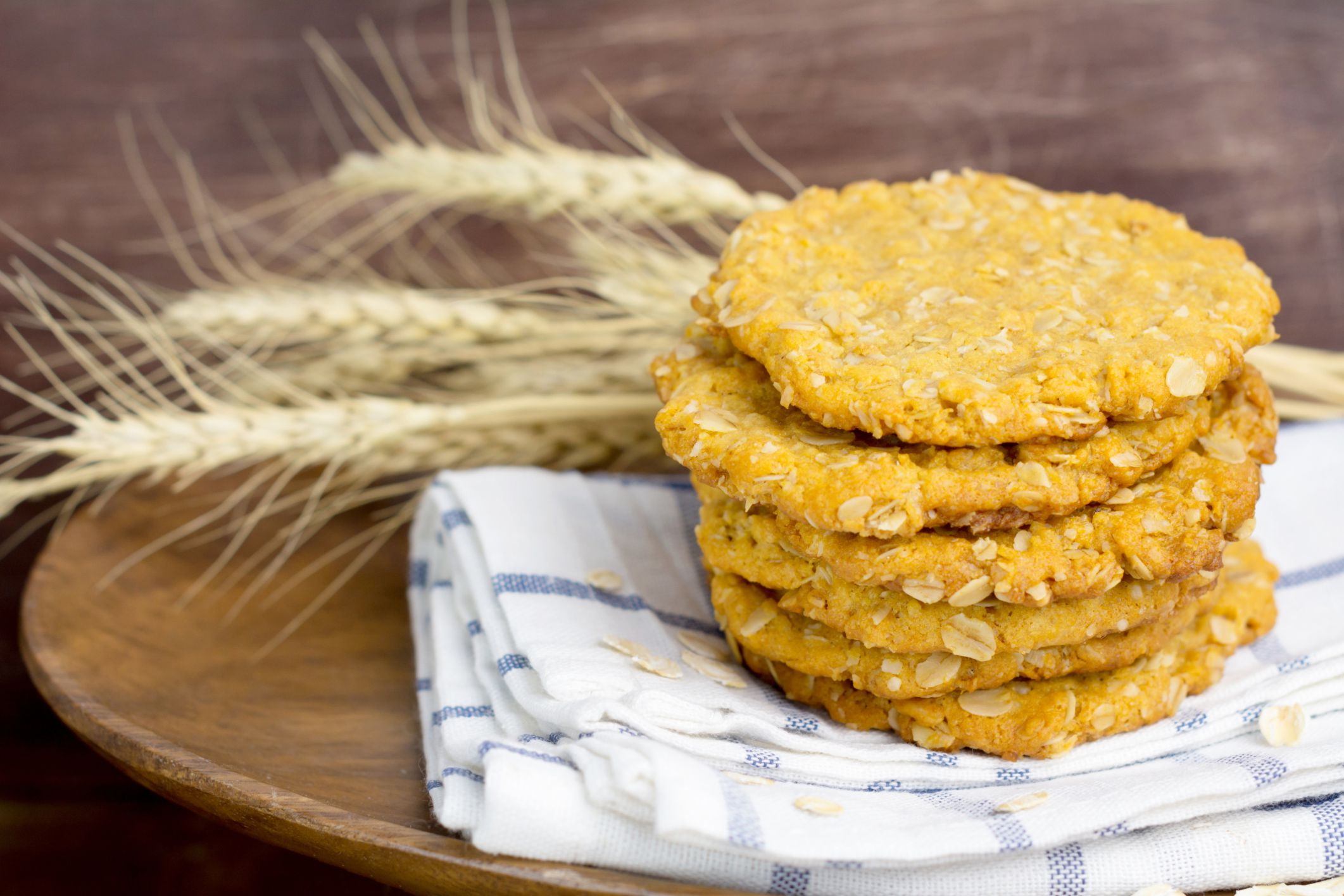 Easy Oatmeal Coconut Cookies with Peanut Butter