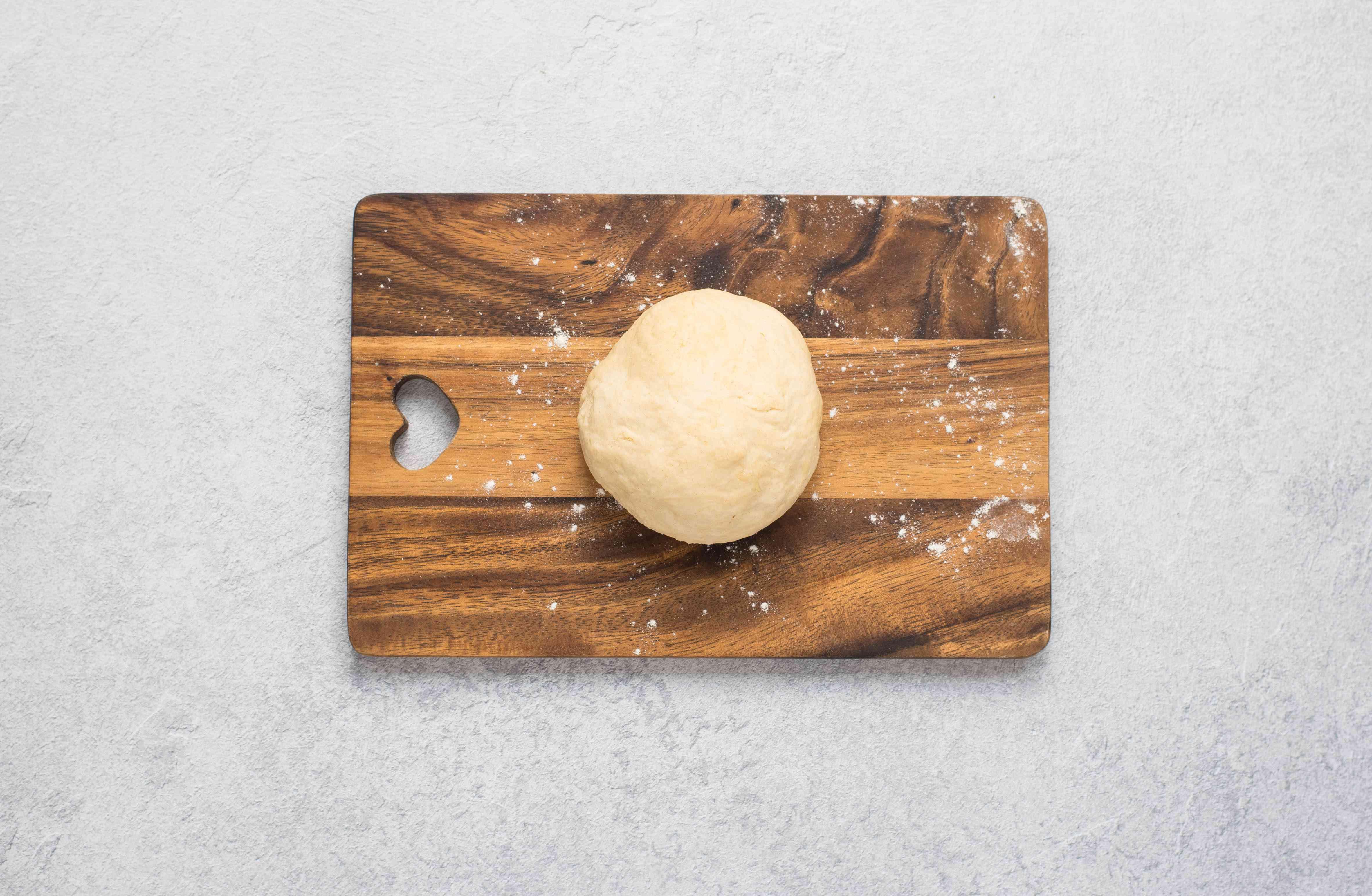Form dough into ball