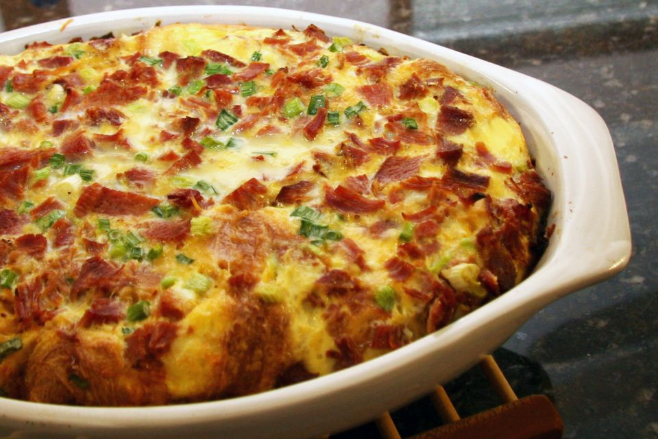 Ham and Egg Casserole