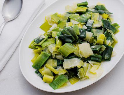 Buttered leeks recipe