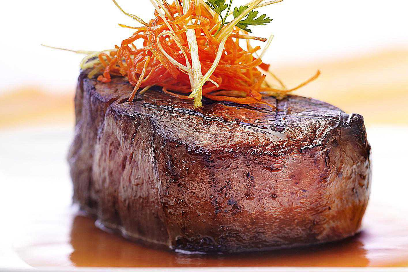 Herb-Crusted Filet Mignon