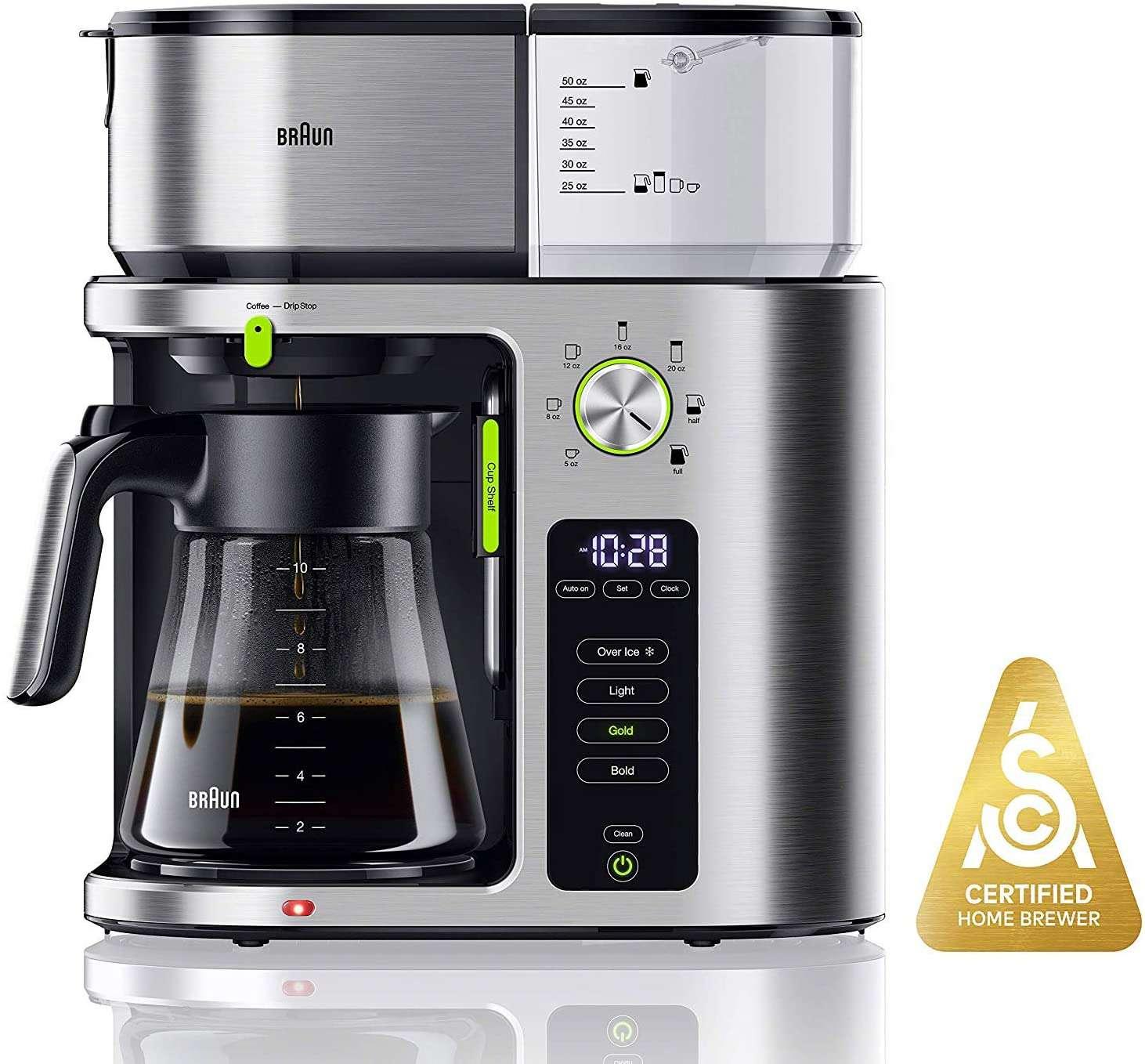 Braun MultiServe KF9070SI Coffee Maker