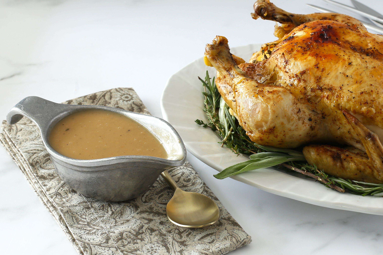 Gravy with Instant Pot chicken