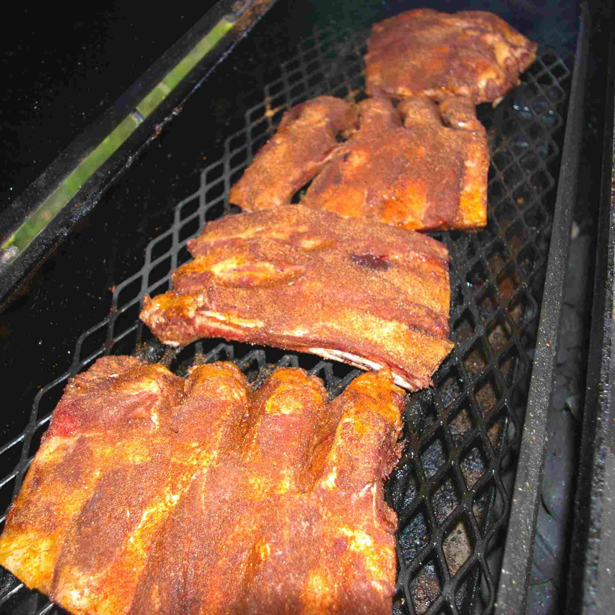Beef Ribs on Smoker