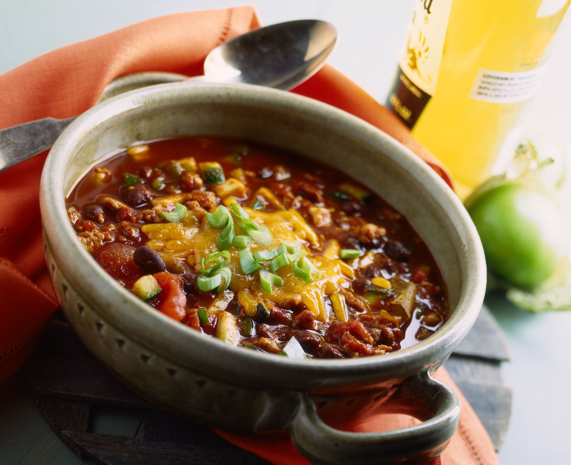 Slow Cooker Pinto Bean Chili With Ground Beef