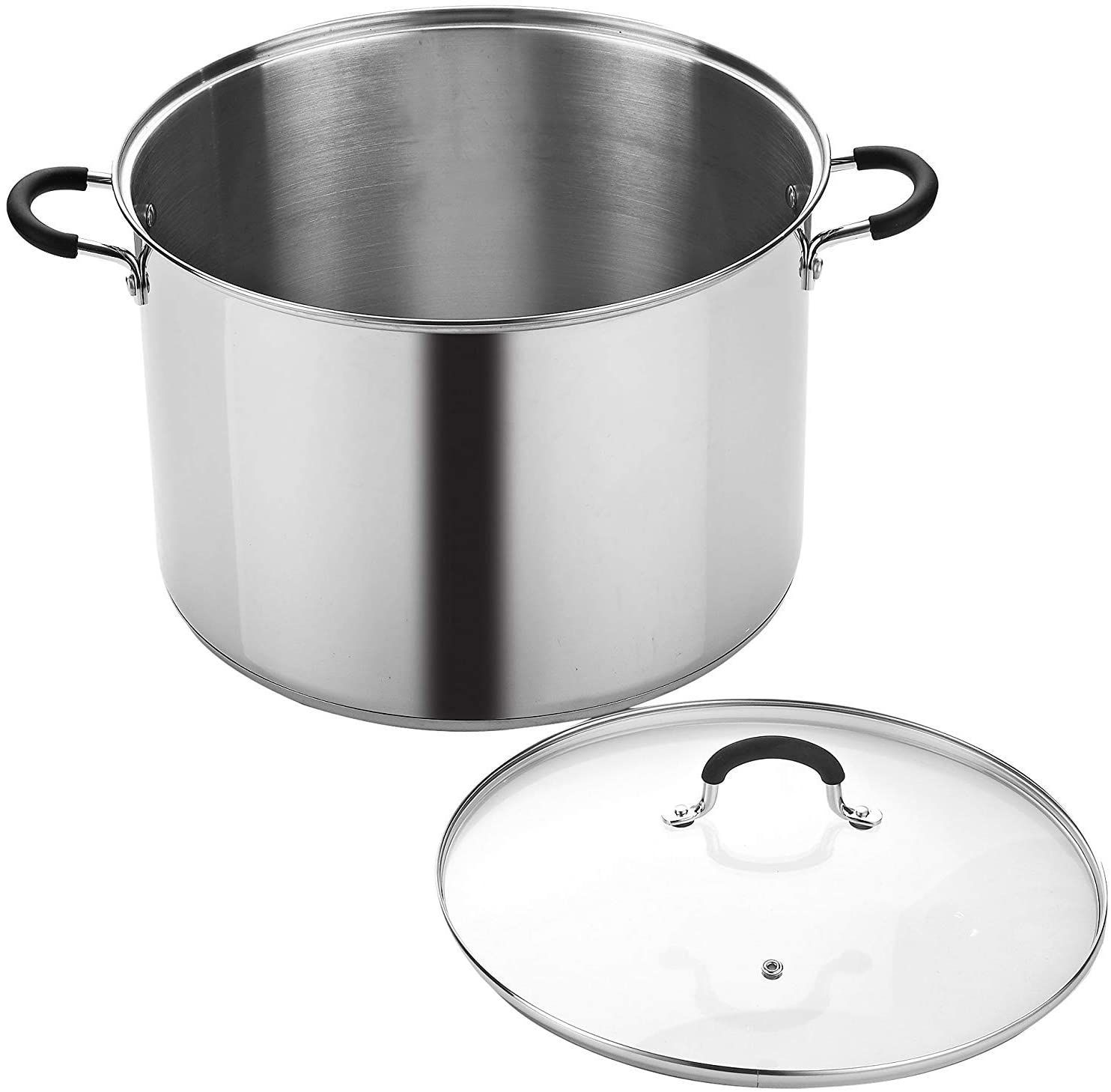 Cook N Home 12-Quart Stainless Steel Stockpot with Lid