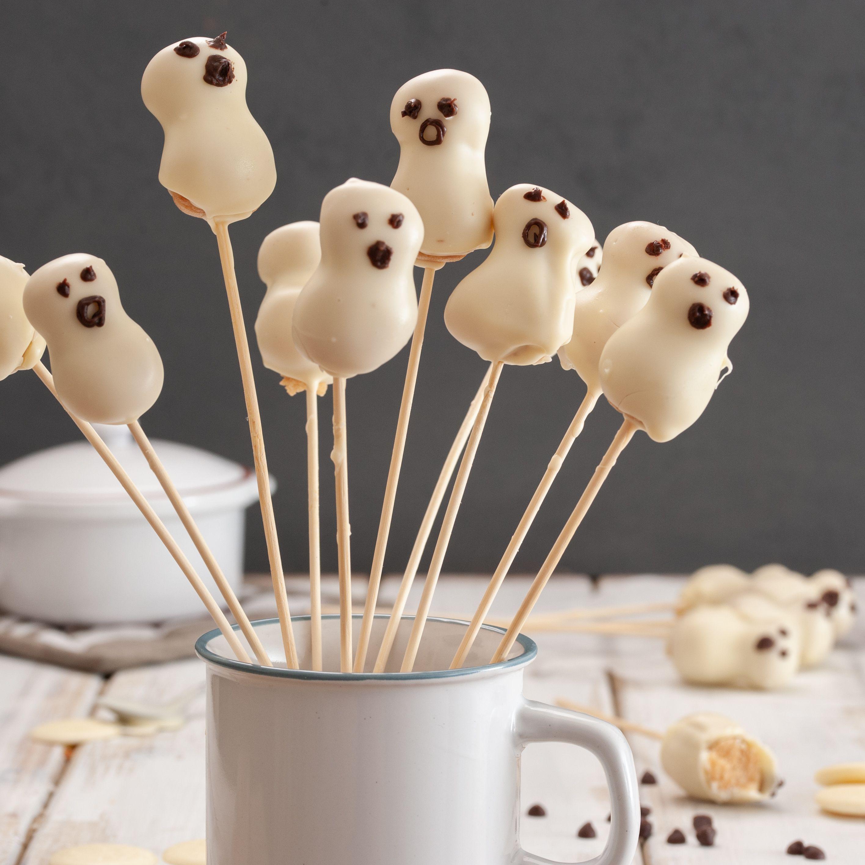 Ghost Cake Pops Recipe