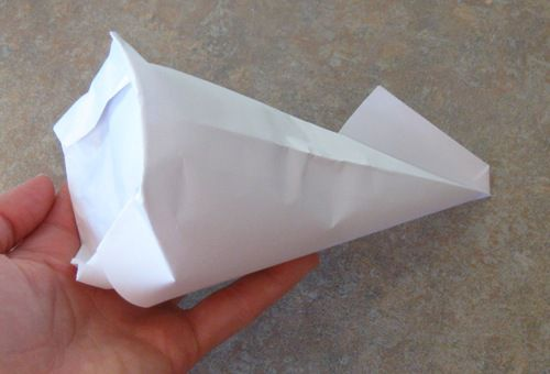 German-style paper cone