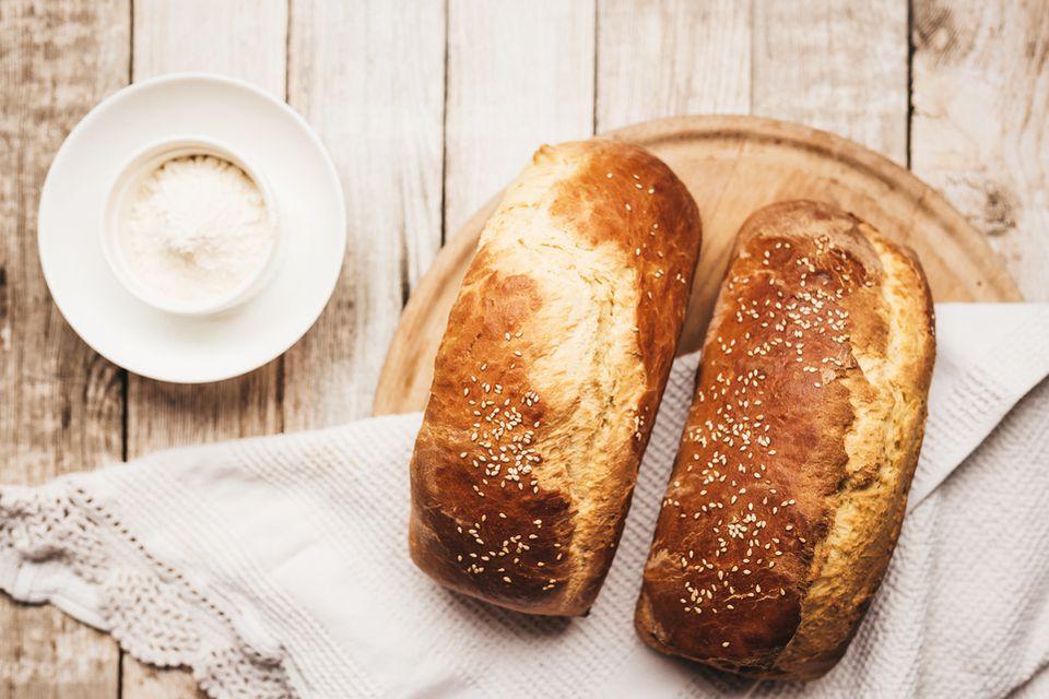 Thanksgiving egg bread