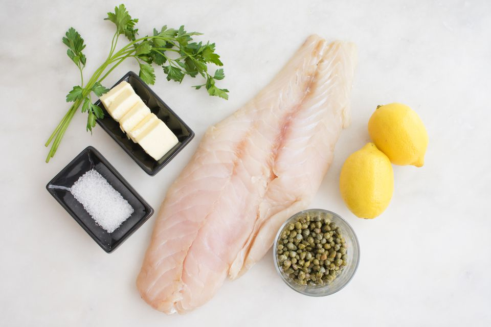 Trout, butter, and lemon