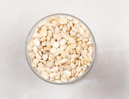 Raw Cracked Hominy Corn