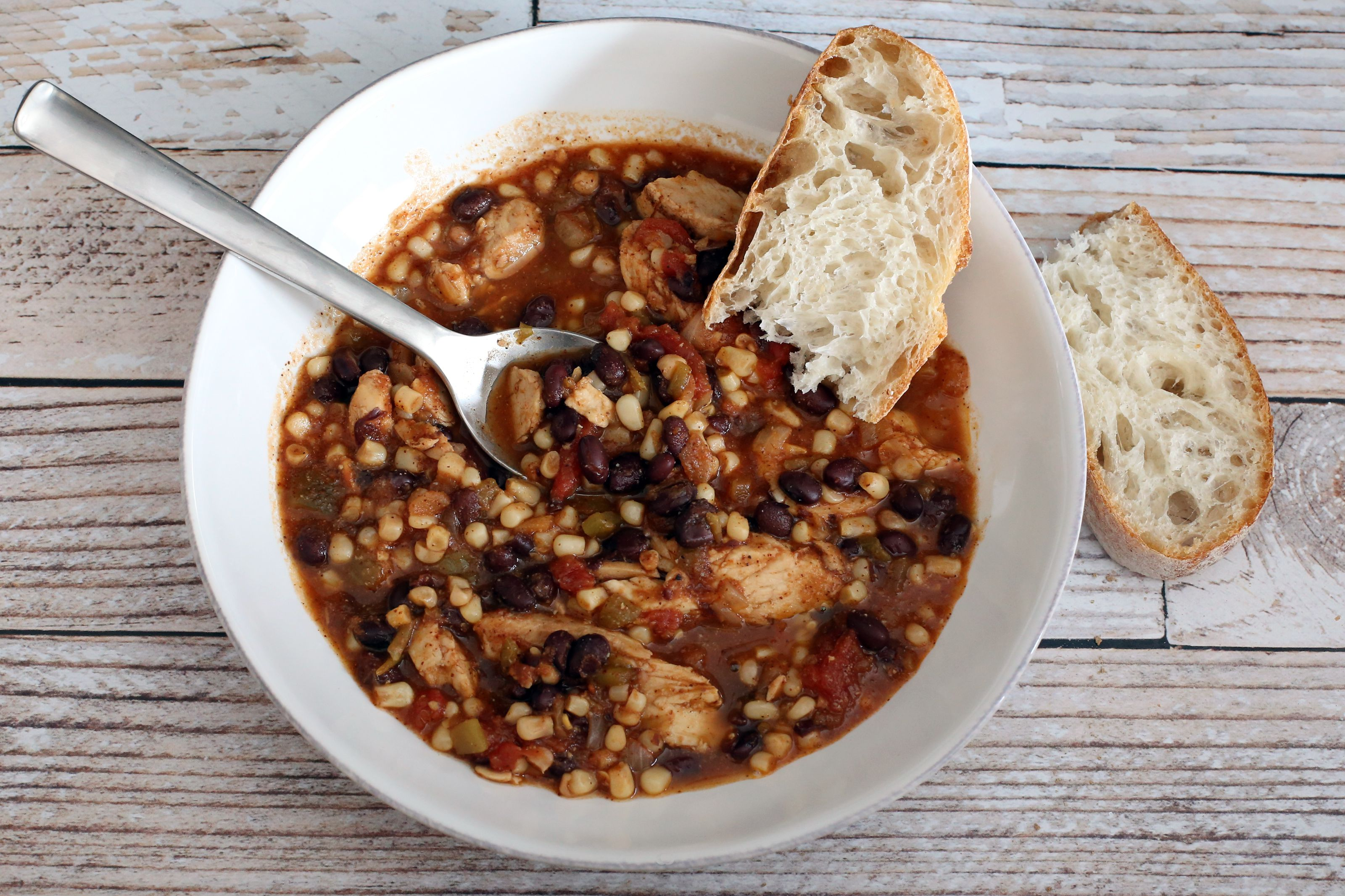 chicken and black bean stew