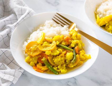 Indian coconut curry vegetables recipe