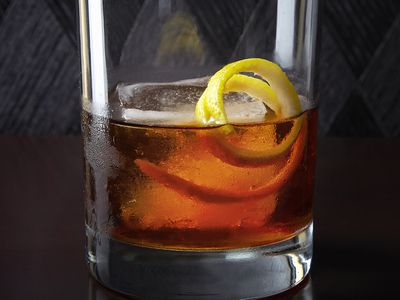 No Need To Muddle This Creek Old Fashioned