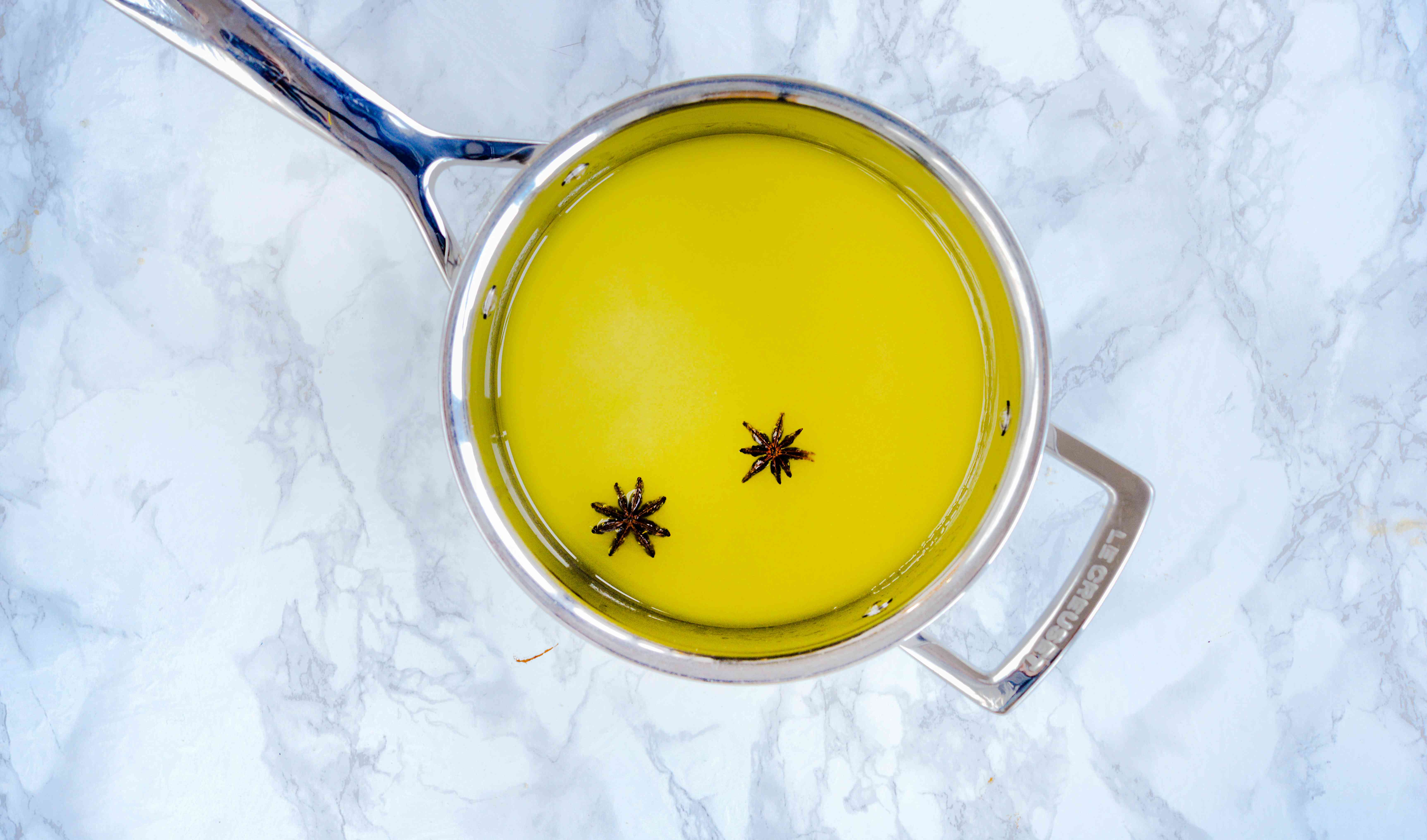 simmer pineapple glaze