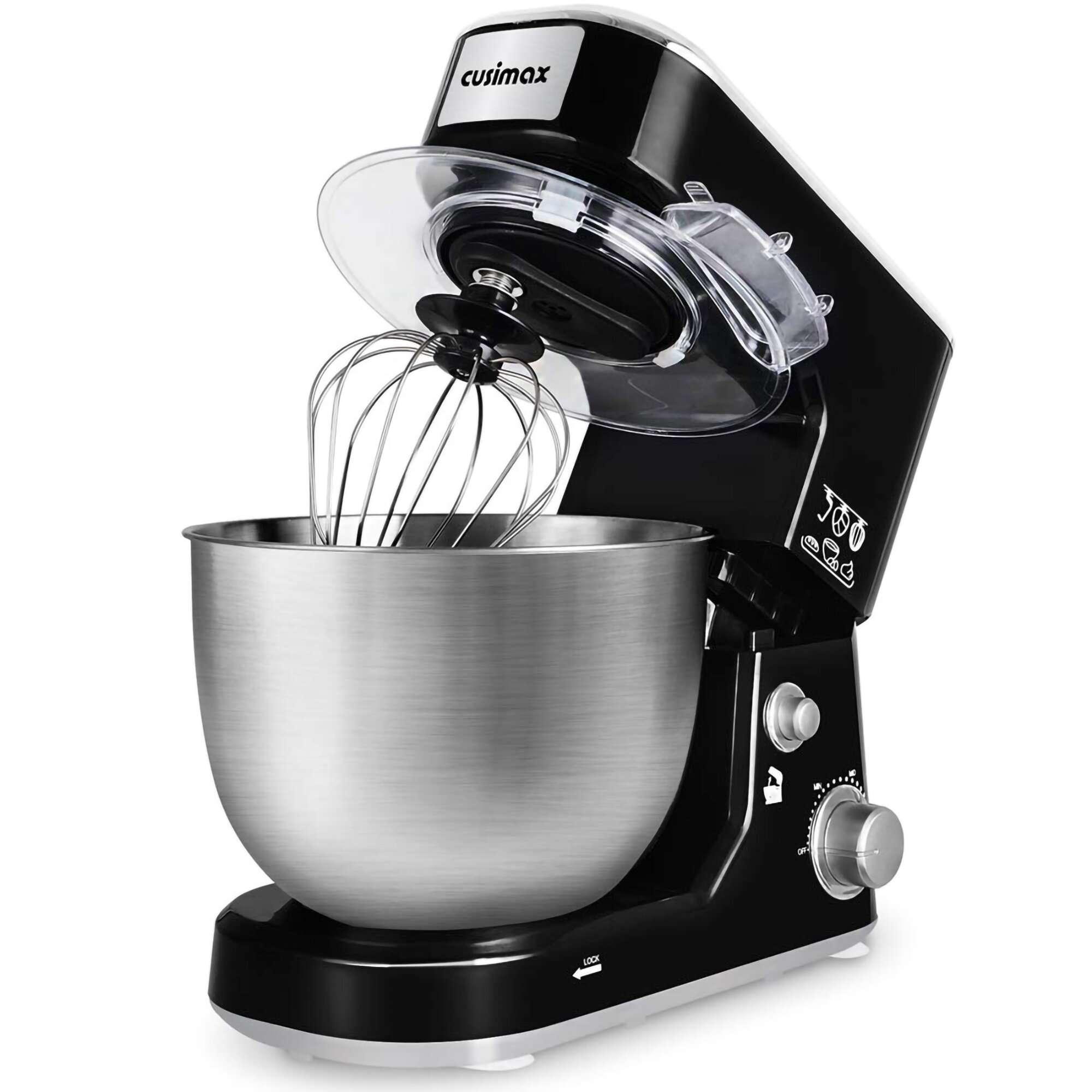 Cusimax Dough Mixer 3 Speed 5 Qt. Stand Mixer