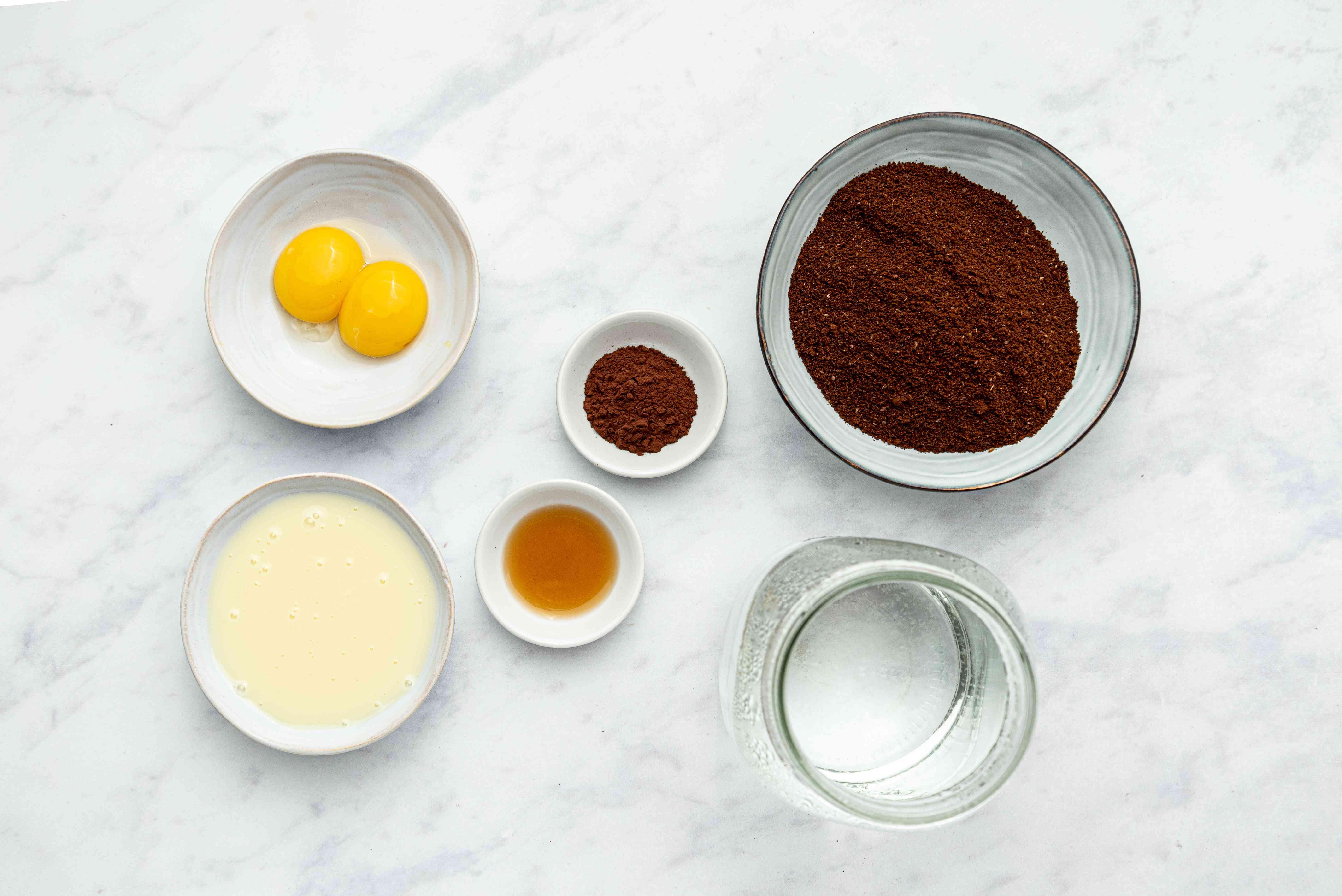 Vietnamese Egg Coffee ingredients