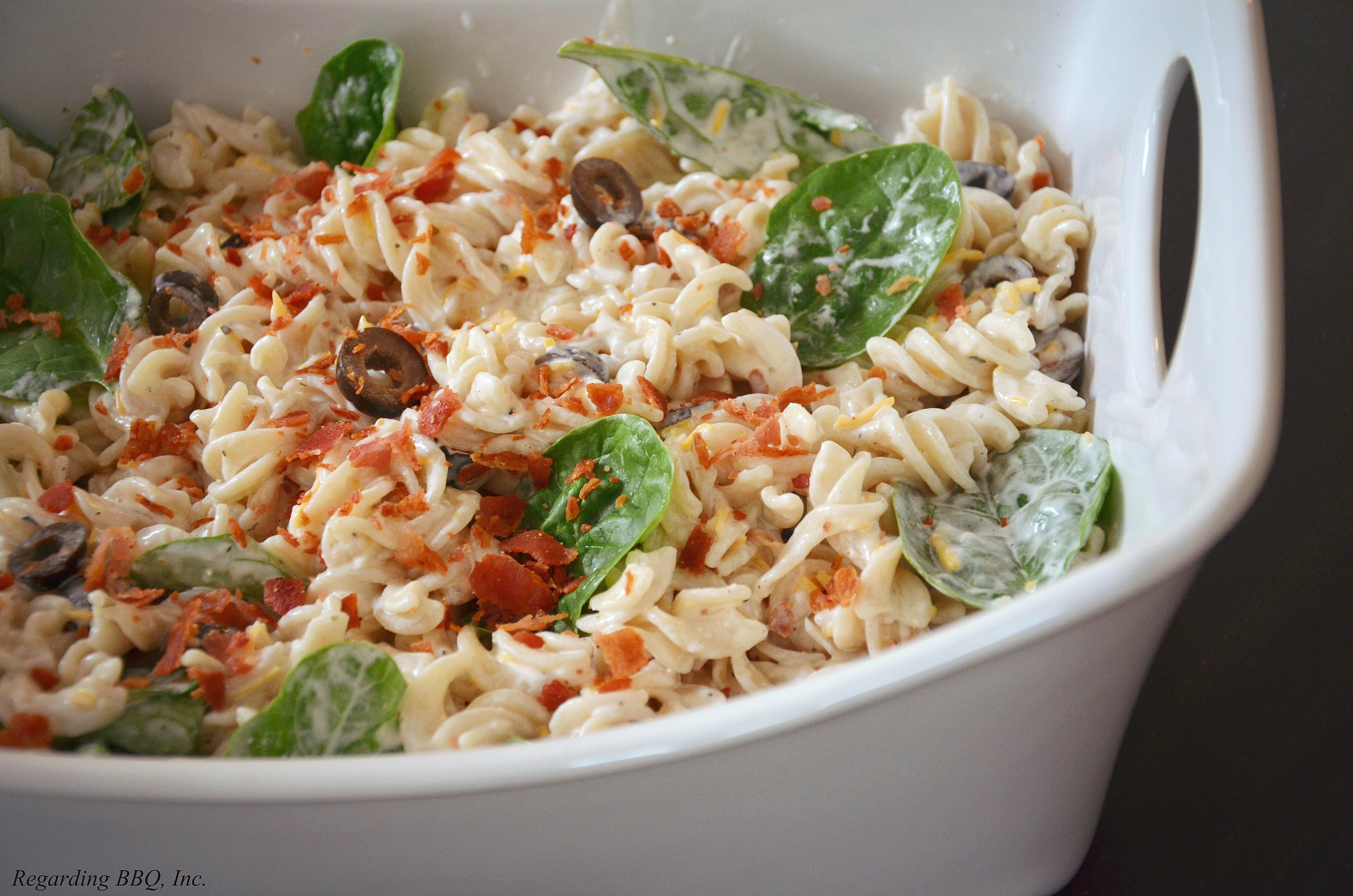 Pancetta Ranch Pasta Salad