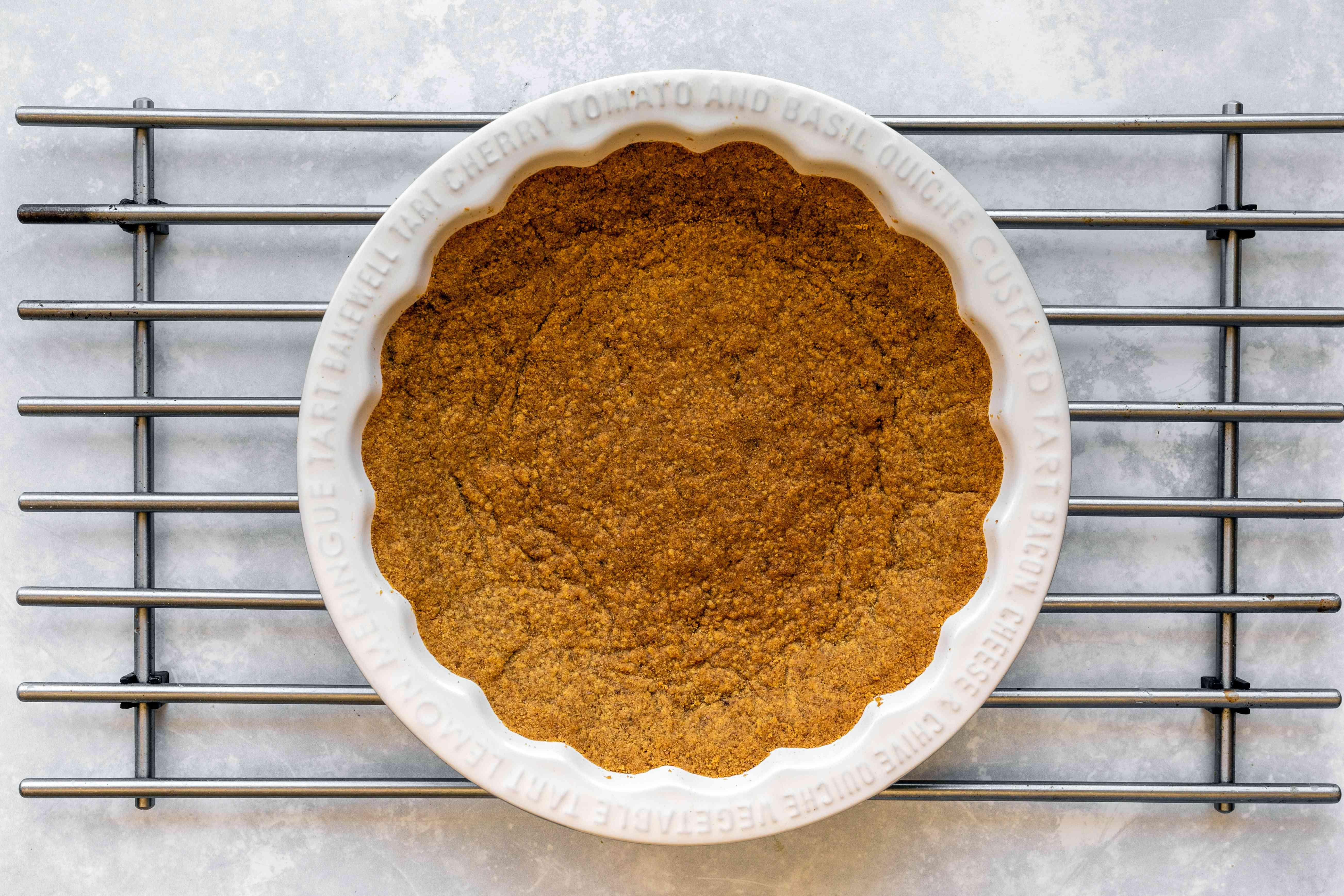 Bake crust