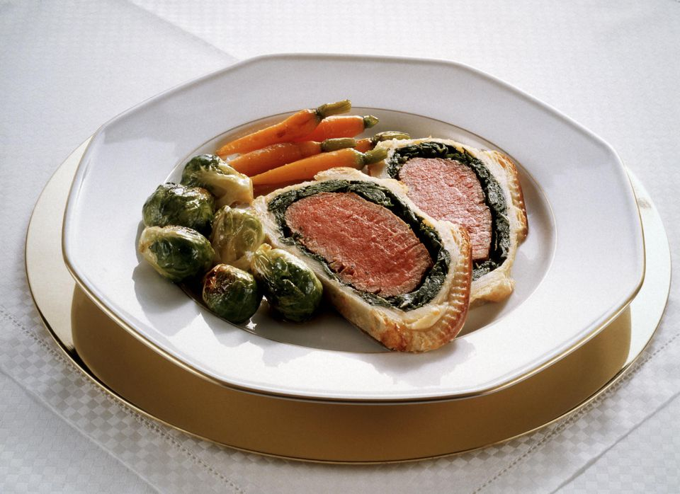 Fillet of Beef in Puff Pastry