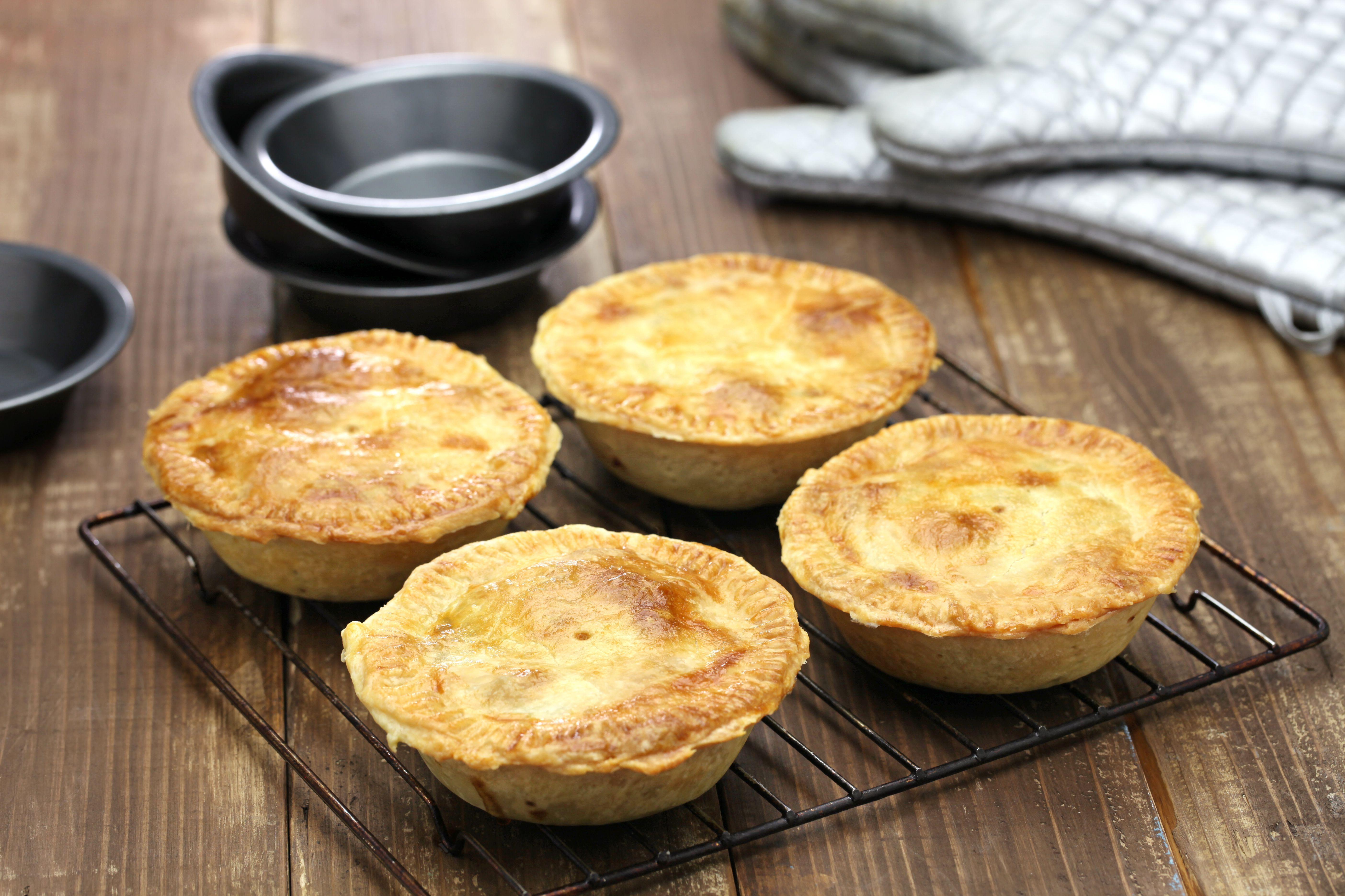 homemade aussie potato pie