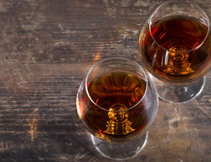 Snifters of brandy