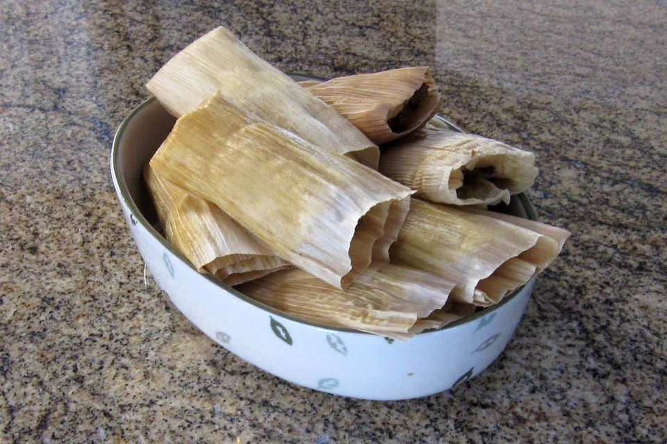 pulled pork tamales