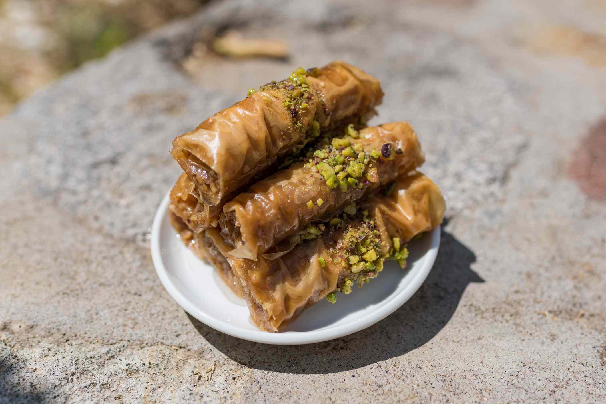 greek rolled baklava recipe