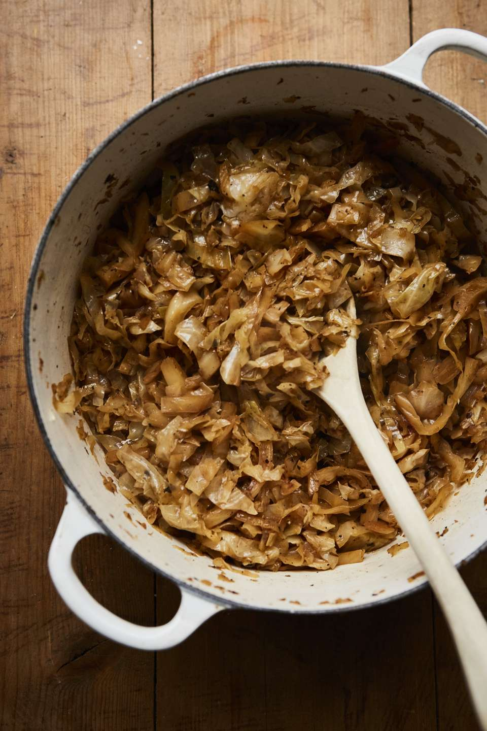 Easy Beer Braised Cabbage