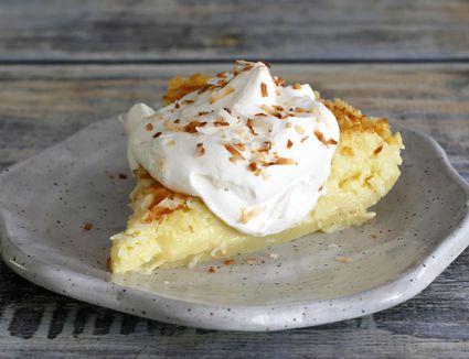 No-Crust Coconut Custard Pie