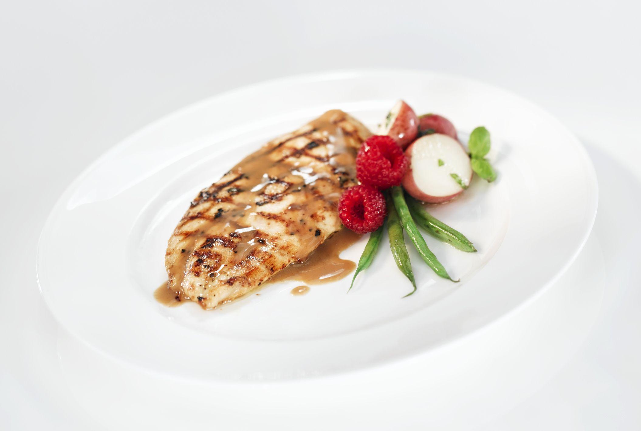 Balsamic Raspberry Chicken