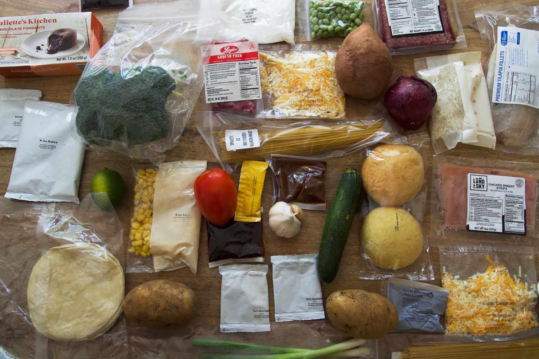 Dinnerly ingredients