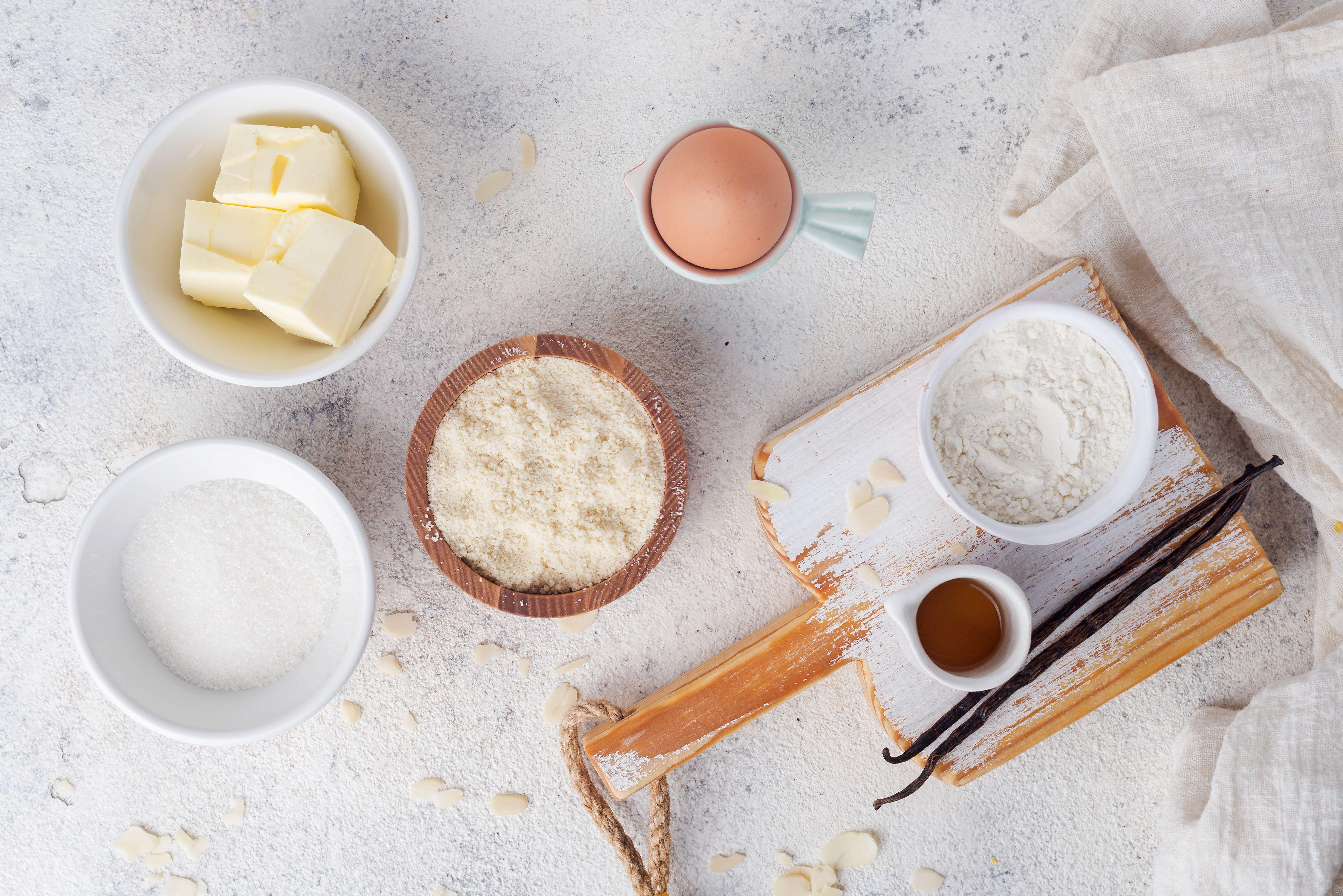 Frangipane ingredients