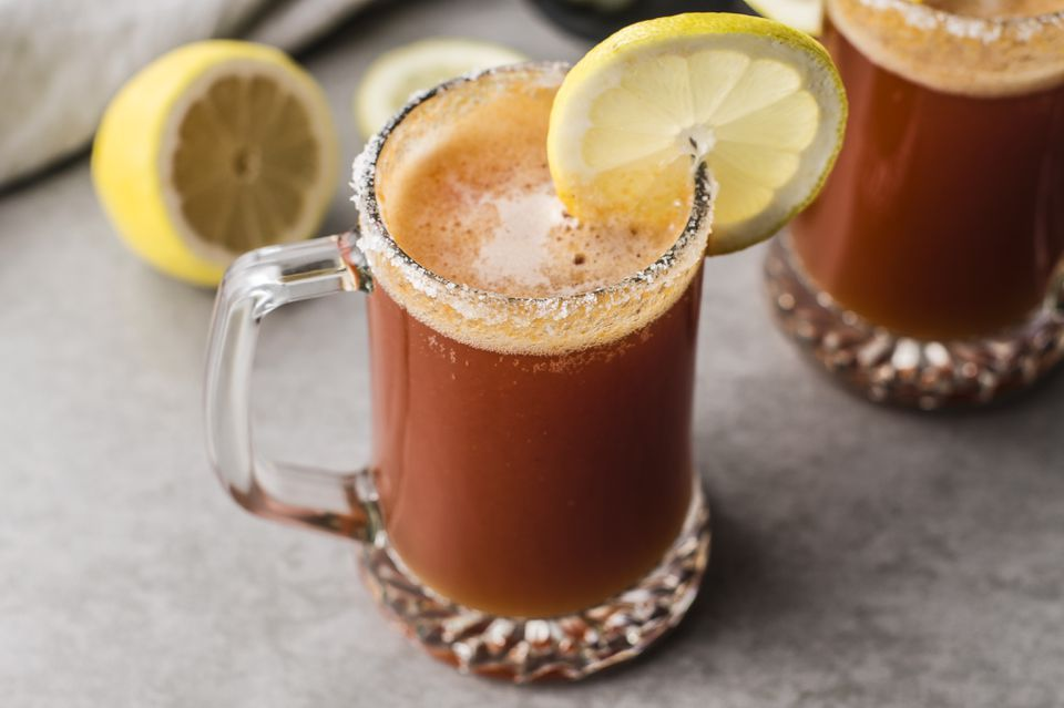 Red Beer Mixed Drink