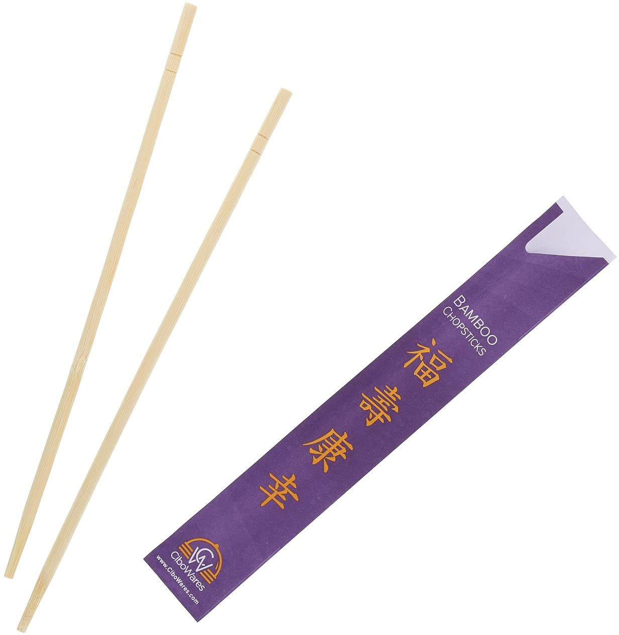 CiboWares Disposable Bamboo Chopsticks