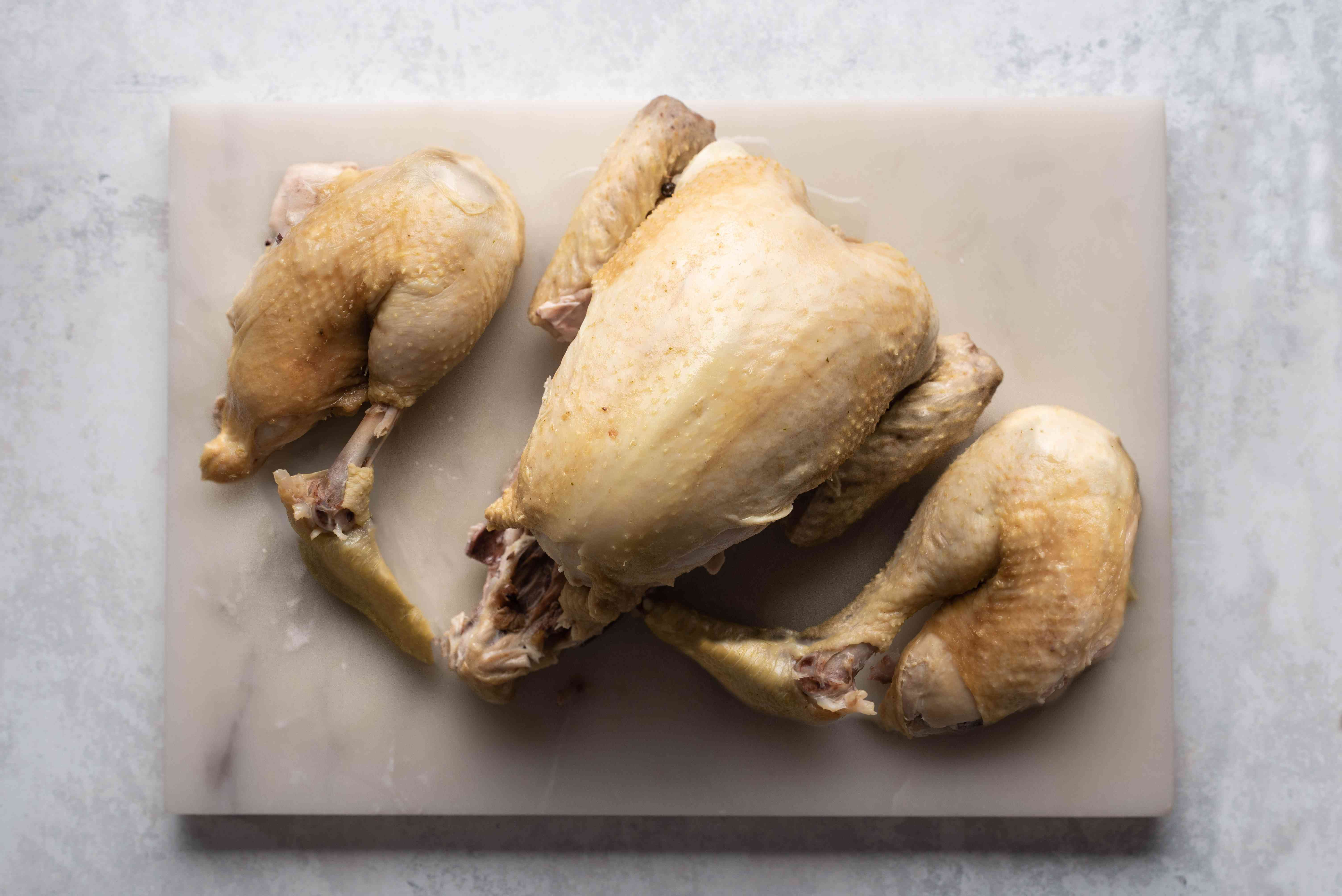 chicken with legs removed