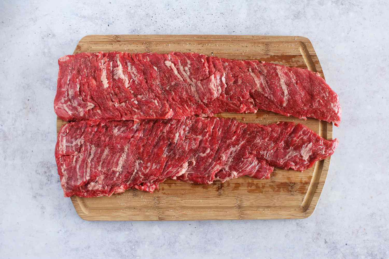 Salt and pepper steak