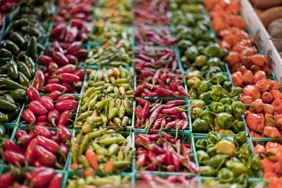 Peppers at St. Louis Farmers Market