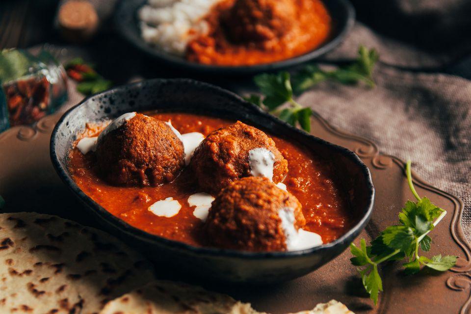 Try this tasty indian kofta meatball curry recipe a kofta curry recipe forumfinder Choice Image