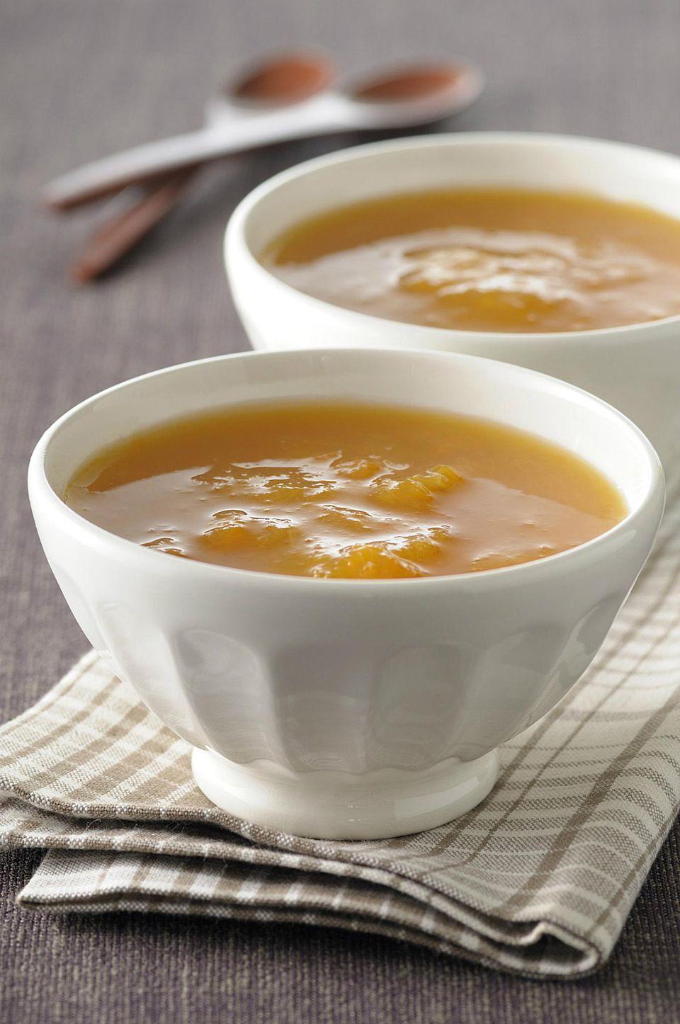Apricot compote