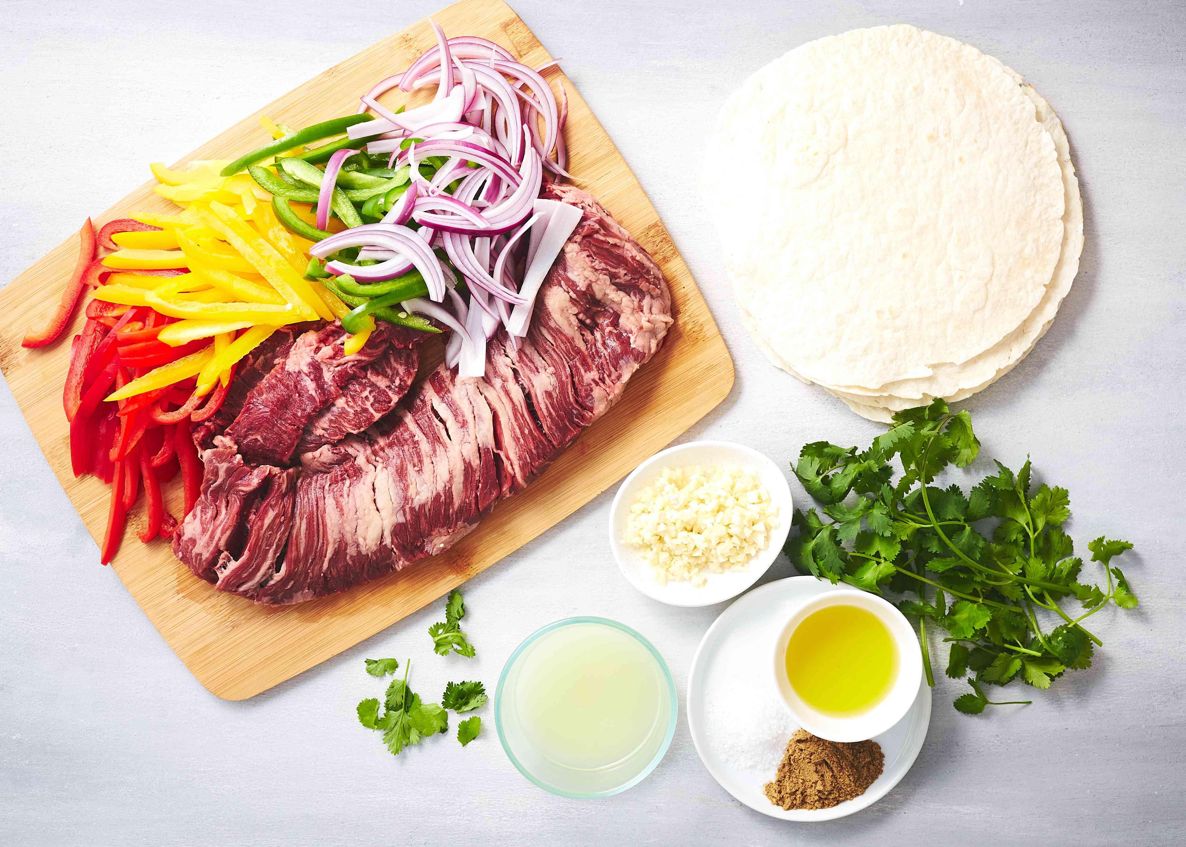 Easy Grilled Skirt Steak Fajitas