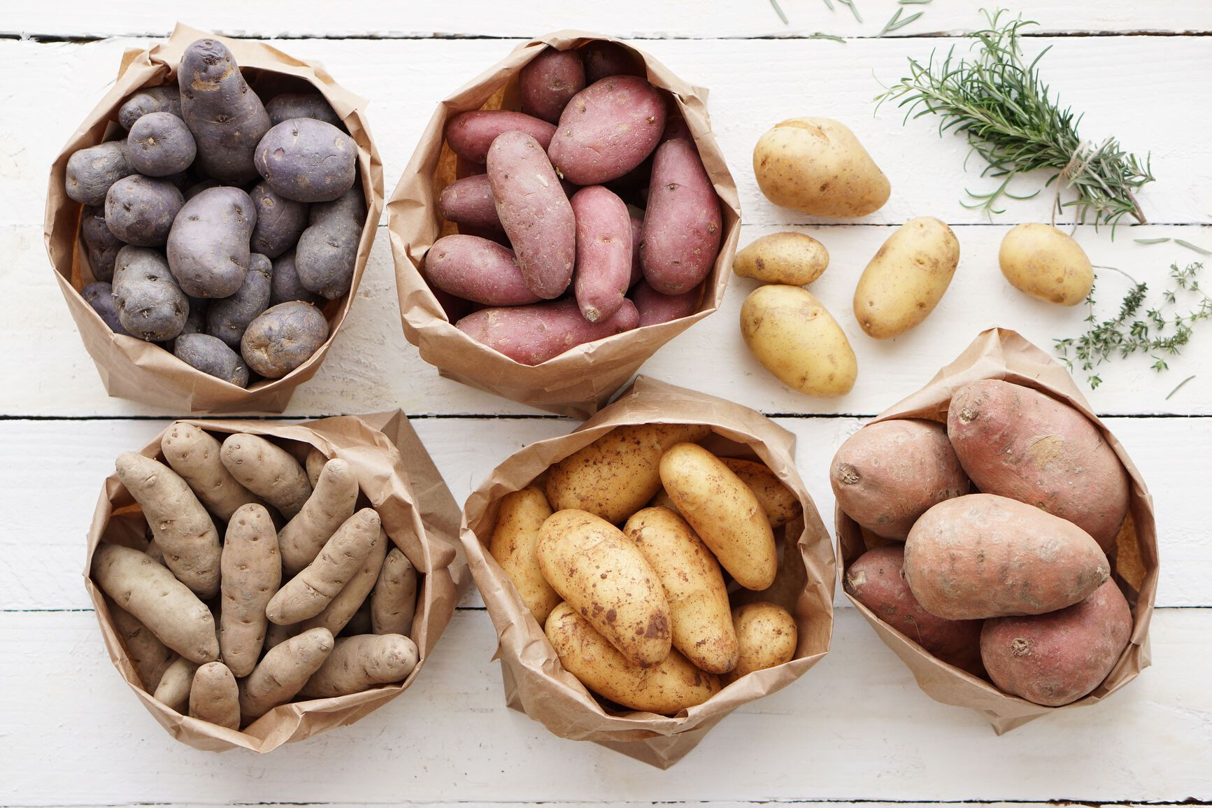 A Definitive Guide to 10 Types of Potatoes