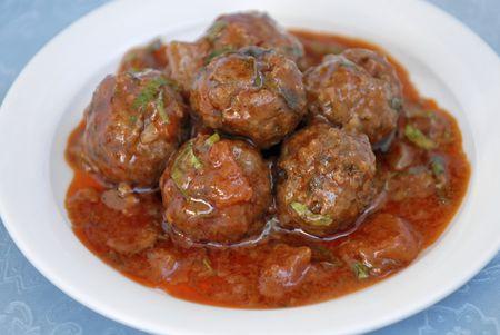 Broiled Italian Meatballs Recipe